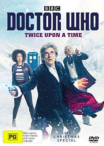 Doctor Who Twice Upon a Time: 2017 Christmas Special | Peter Capaldi | NON-USA Format | Region 4 Import - Australia