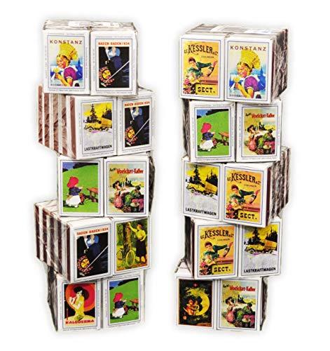 jameitop® 100 Schachteln Zündholzschachtel Zündhölzer Sicherheitszündhölzer 4000 Streichhölzer, 41mm