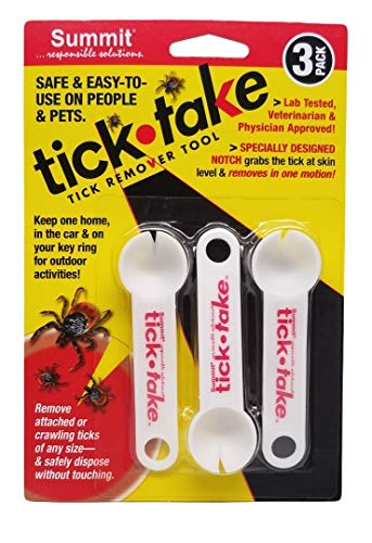 Summit responsible solutions Tick Take tick Remover The Safe, Easy,...