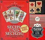 Sechsundsechzig/Schnapsen: + Spielkarten Französisch - Perlenreihe