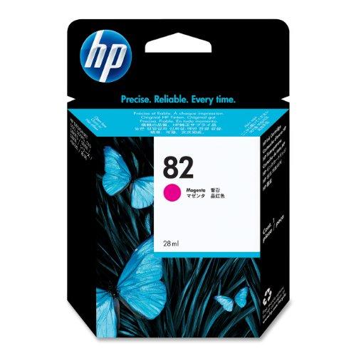HP 82 Magenta Original Tintenpatrone, 28 ml