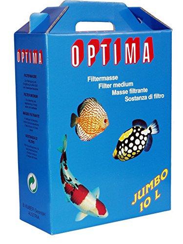 OPTIMA Jumbo Filtre de Charbon pour Aquariophilie 10 l