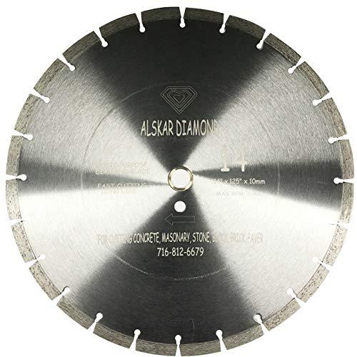 MK-215GL 156651 7 x .060 x 5//8 Inch Supreme Wet Cutting Diamond Blade For Glass