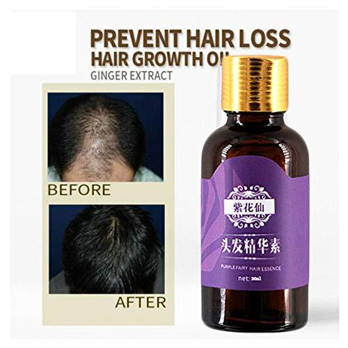 Haarwachstum Serum Haarpflege Essenzprävention Effektives Wachstum Nährt die Ölkontrolle Beschleunigen Nachwachsen Behandlung Gegen Haarausfall Haarwurzeln stärken (Haarserum)