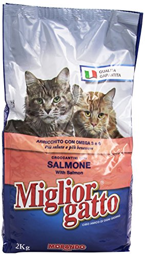 MigliorGatto Croccantini Salmone-Aringhe 2 kg