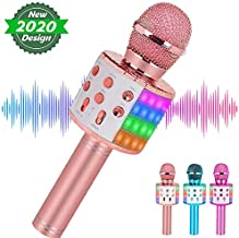 Niskite Most Popular Toys for 4 5 6 Year Old Girls Gifts,Wireless Karaoke Microphone for Kids Age 7-16,Hottest Birthday Presents for 8 9 10 11 12 Young Preteen