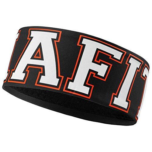 DYNAFIT Performance Warm Headband Schwarz-Weiß, Kopfbedeckung, Größe One Size - Farbe Black Out