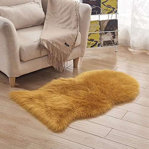 JTYX Faux wollen tapijt gemakkelijk te reinigen zachte pluizige bank mat woonkamer slaapkamer nachtkastje decoraties tapijt