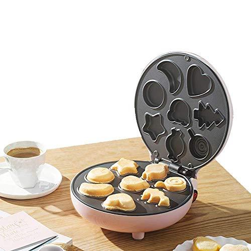 Zweiseitige Waffel-Backpfanne Haushaltsküchengas mit Nahrungsmittelgrad Non-Stick und Holzgriff zum Frühstück, Mittagessen oder Snacks fangkai77