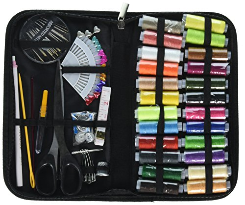 Sewing Kit accessories Compact in The 10x5.5x1Inch Larger Basket of Oxford Emergency Kit,Sewing Kit for Adults,Beginners,Kids,Travel,etc..