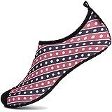 SAGUARO Chaussures Aquatiques Chaussures d'eau Chaussons de Plage Yoga Surf Nager Sport Aquatique...