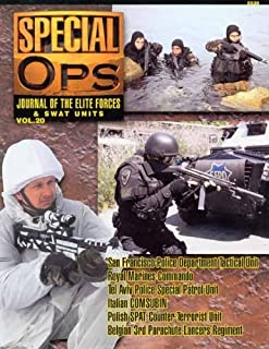 Concord Publications Special Ops Journal #20 San Francisco PD Tactical Unit Royal Marines Commando Tel Aviv Police Special...