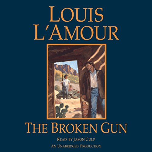 The Broken Gun audiobook cover art