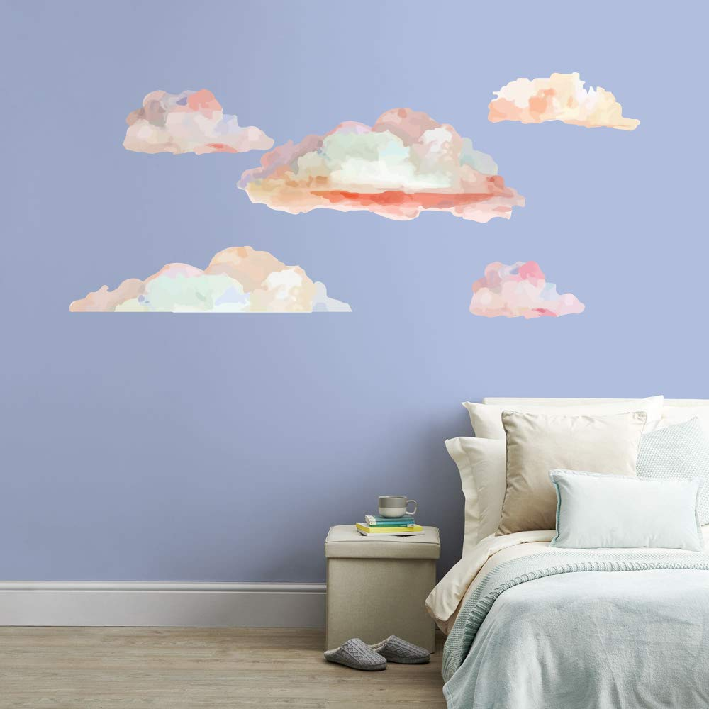 Special price Clouds Sky Wall Vinyl Sticker Car Decal Art Decor Max 74% OFF LP6929 Mural