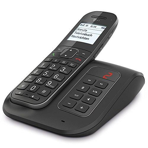 Telekom Sinus A206 Comfort Großtastentelefon Dect anthrazit mit AB