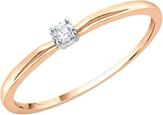 KATARINA 10KT Gold and diamond Ring for women