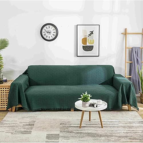 Disponibile su entrambi i lati Copridivano grande, telo da divano, multiuso. Copertura protettiva per mobili decorativa