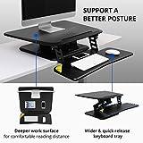 Flexispot F3W Höhenverstellbarer Schreibtisch Sitz-Steh-Schreibtisch Steharbeitsplatz Computertisch Weiß Neu - 4