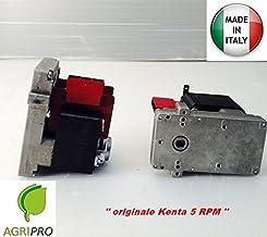 Motorreductor Kenta K 9117170RPM 5hembra horario para sfufe a Pellets con Segundo Engranaje de hierro