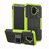 Samsung Galaxy A6 2018 Handy Tasche, FoneExpert® Hülle Abdeckung Cover schutzhülle Tough Strong Rugged Shock Proof Heavy Duty Hülle Für Samsung Galaxy A6 2018