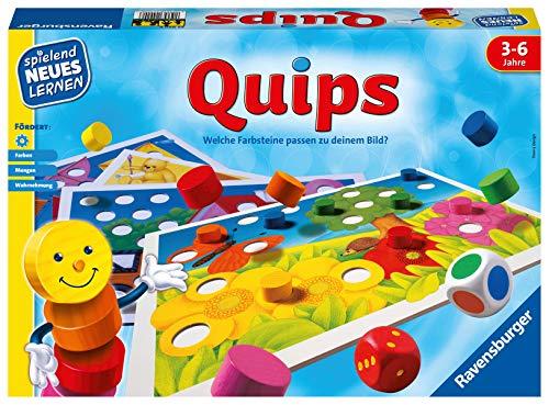 Ravensburger 24920 – Quips - Spielen und Lernen für Kinder, Lernspiel für Kinder von 3-6 Jahren, Spielend Neues Lernen für 2-4 Spieler