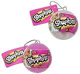 Bundle Set of 2 Shopkins Ornaments with 4 Shopkins Inside
