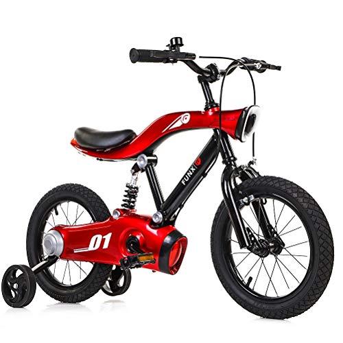 DOS Laufrad für Kinder von 2 bis 6 Jahren Kids First Running Laufrad mit Bremsen und Luftreifen 12 Zoll Cabrio 2 in 1 Sport Edition