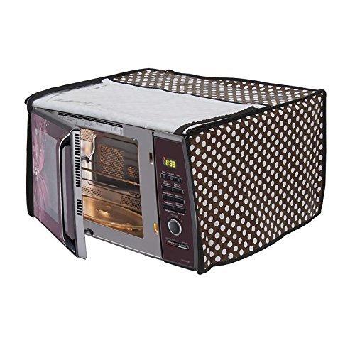 Stylista Microwave Oven Cover for Borosil Prima 25 Liter 1500 Watt Convection Oven Toaster Griller (OTG), Polka dot Pattern