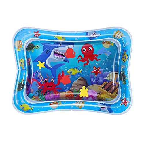 Jia Hu 1 pc Tummy Time Water Play Mat Inflable Sensorial Juguetes Divertidos Centro de Actividad