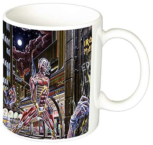 MasTazas Iron Maiden Somewhere In Time A Taza Ceramica 11 oz ≈ 325 ml