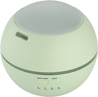 小さい携帯用空気清浄器、家の赤ん坊部屋のための7色の変更の夜プロジェクター香りの空気加湿器,Green