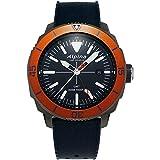 Alpina Geneve Seastrong Quartz GMT AL-247LNO4TV6 Reloj de Pulsera para Hombres