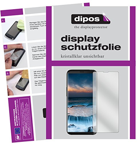 dipos I 2X Protector de Pantalla Compatible con Uhans i8 pelicula Protectora Claro