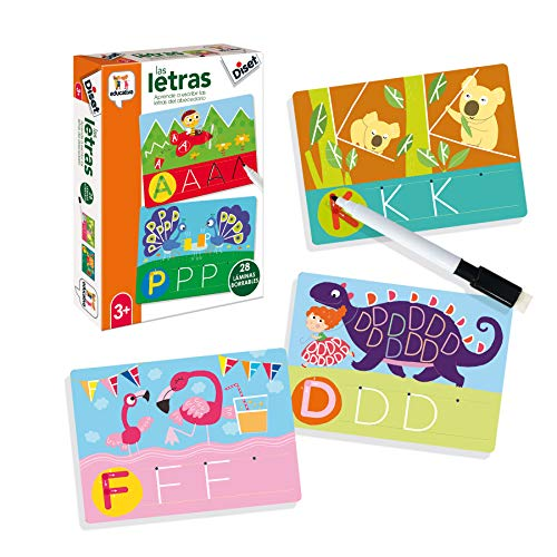 Diset- Aprendo Las Letras, Multicolor (463863)