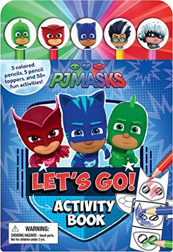 Pj Masks Let's Go Activity Book