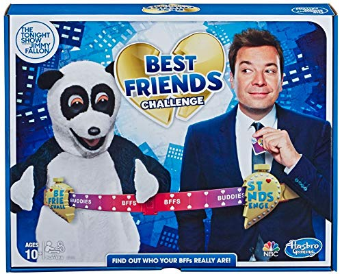 Hasbro Gaming The Tonight Show Starring Jimmy Fallon Best Friends Challenge Party Game for Teens & Adults