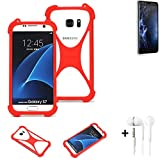 K-S-Trade® Mobile Phone Bumper + Earphones For Doogee Y6