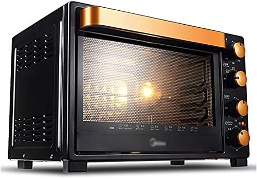 Temperatura ajustable del horno 35L 0-250 y Temporizador de 60 minutos Posición de hornear de cuatro capas Horneado para el hogar Horno eléctrico 1500W