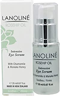 Lanoline Rosehip Oil Intensive Eye Serum with Chamomile and Manuka Honey