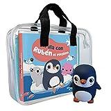 Libro de baño. Un día con Rubén el pingüino