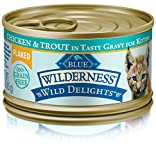 Blue Buffalo Wilderness Wild Delights High Protein Grain Free, Natural...