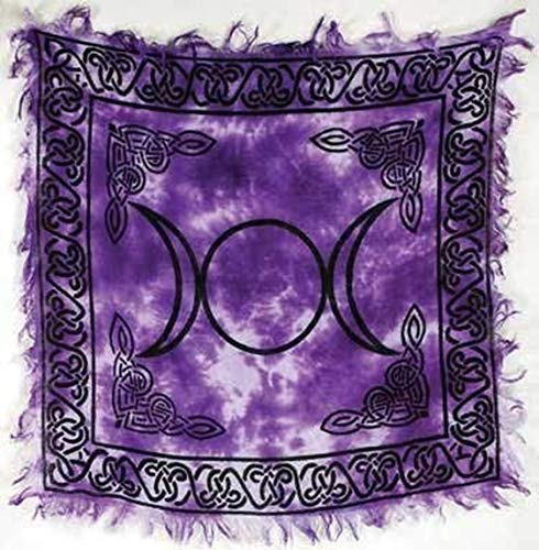 Triple Moon Altar Cloth 18' x 18'