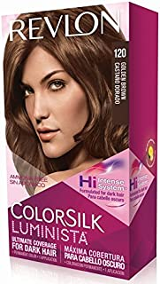 Revlon ColorSilk Luminista Hair Color, 120 Golden Brown, 1 Count