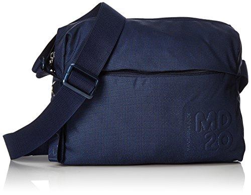Mandarina Duck Md20, Borsa a Tracolla Donna, Blu (Dress Blue), 10x21x28.5 centimeters (B x H x T)