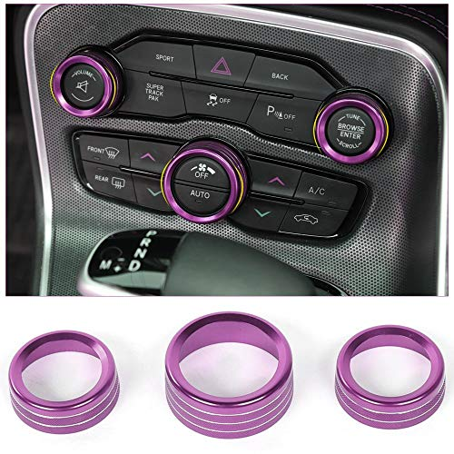Voodonala Air Conditioner Switch CD Button Knob for Dodge Challenger Charger Chrysler 300 300s...
