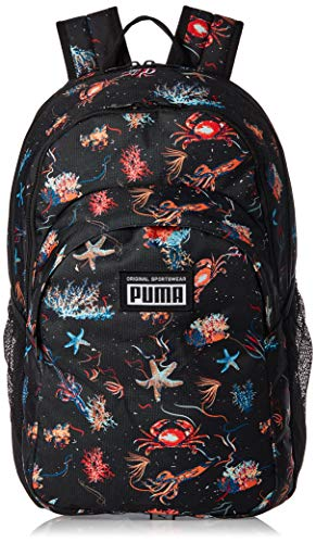 PUMA Academy Backpack Rucksack, Black-Underwater AOP, OSFA