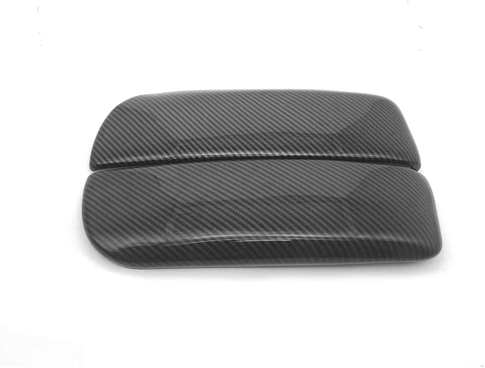 N\A for BMW X5 X6 E71 E70 ABS Carbon Fiber Color Car Interior Center Armrest Box Cover Console Box Storage Box Trim Covers X5 E70 2007-2013//X6 E71 2008-2014