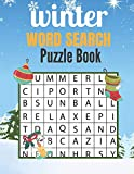 Winter Word Search Puzzle Book: Holiday Fun for Adults themed word search puzzle