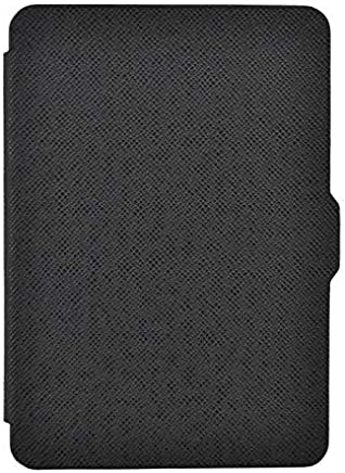 Ultra Slim Magnetic Smart Protective Case Cover For Amazon Kindle Paperwhite Black
