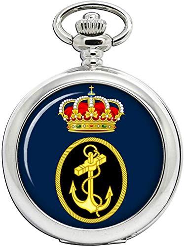 Español Marino (Armada Espan ̃ Ola) Reloj de Bolsillo